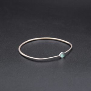 Bracelet laiton jade