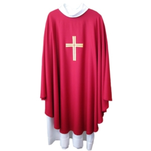 Chasuble rouge