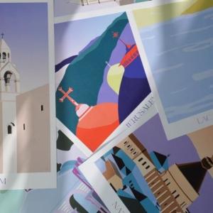 Collection d'affiches: Villes d'Orient