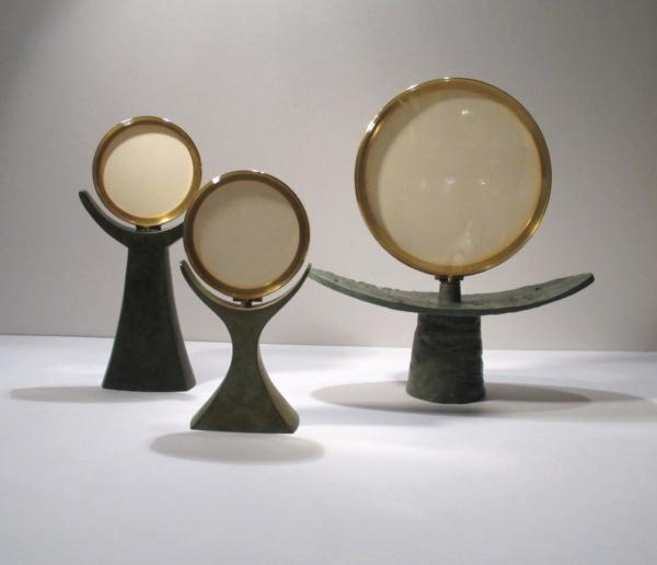 Ostensoir bronze