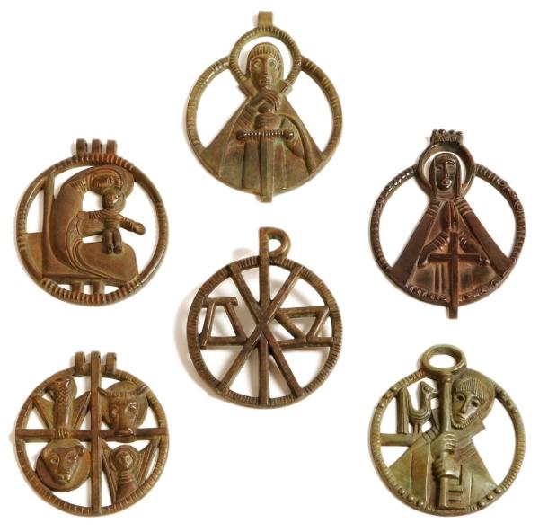 Médaillons bronze JL Rucki