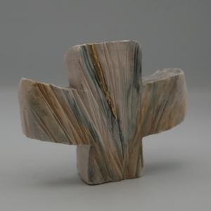 Croix à poser en céramique