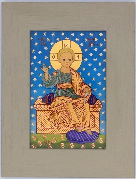 Enfant Jésus sur son trône