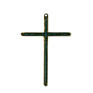 Croix murale en bronze émaillé 5