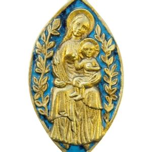 Médaillon Vierge à l'Enfant