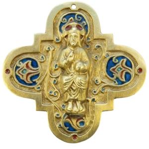 Médaillon Christ en Majesté