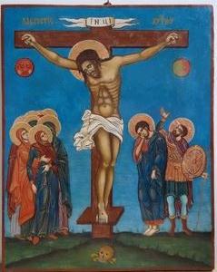 icône Crucifixion